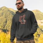 Produktbild Herren Hoodie Pullover Capo Bayern schwarz