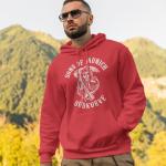 Produktbild Herren Pullover Hoodie sons of munich Südkurve Bayern rot