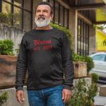 Produktbild Herren Sweatshirt Crewneck Rundhals blutrot seit 1900 Bayern schwarz