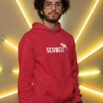 Produktbild Kapuzenpulli Schweiz Kuhma