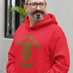 Produktbild Kapuzenpulli Sons of Schwaben Augsburg rot