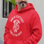 Produktbild Kapuzenpulli Sons of Stuttgart Cannstatter Kurve rot