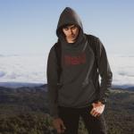 Produktbild Kapuzenpulli Ultras Rosso-Nero