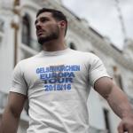 Produktbild T-Shirt Gelsenkirchen Europatour 2015 weiss