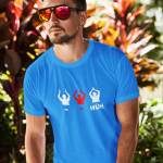 Produktbild T-Shirt Island Klatsch - HUH