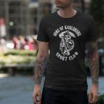 Produktbild T-Shirt Sons of Karlsruhe Sportclub schwarz