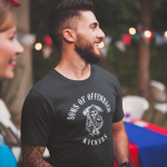 Produktbild T-Shirt  Sons of Offenbach Kickers schwarz