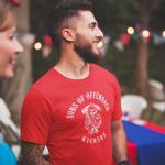 Produktbild T-Shirt  Sons of Offenbach Kickers rot