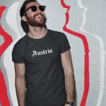 Produktbild T-Shirt Österreich old 1c