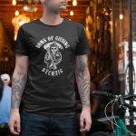 Produktbild 1860 T-Shirt SONS OF  GIESING schwarz