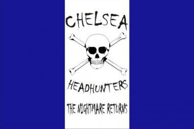 Fahne Chelsea Headhunters