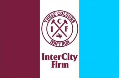 Fahne West Ham ICF