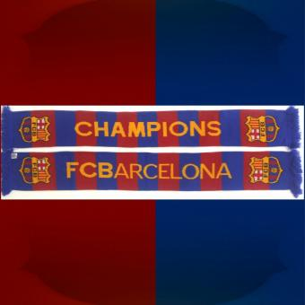 Fanschal Barcelona Champions