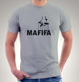 T-Shirt Anti Fifa, Anti Blatter, Anti Katar