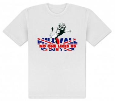 T-Shirt Millwall flag