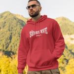 Herren Pullover Hoodie Südkurve München Bayern rot