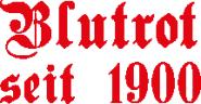 Herren Sweatshirt Crewneck Rundhals blutrot seit 1900 Bayern schwarz