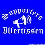 Illertissen T-Shirt Supporters Megaphon
