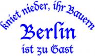 Kapuzenpulli kniet nieder-Berlin