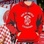 Kapuzenpulli Sons of Anfield Liverpool rot