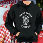 Kapuzenpulli Sons of Anfield Liverpool schwarz