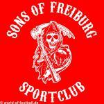 Kapuzenpulli Sons of Freiburg Sportclub rot
