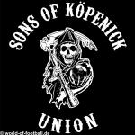Kapuzenpulli sons of Köpenick Union schwarz