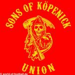 Kapuzenpulli sons of Köpenick Union rot