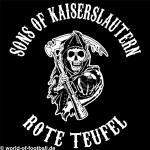 Kapuzenpulli Sons of Kaiserslautern Westkurve schwarz