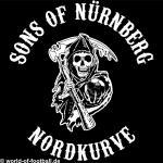 Kapuzenpulli Sons of Nürnberg Nordkurve