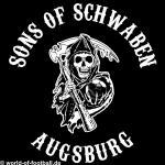 Kapuzenpulli Sons of Schwaben Augsburg schwarz