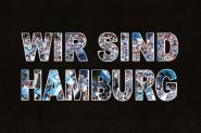 Kapuzenpulli wir sind Hamburg