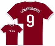 Player Shirt Polen Lewandowski 9