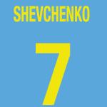 Player Shirt Shevchenko-Ukraine