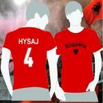 Player T-Shirt Albanien Hysaj