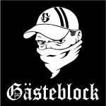Sweat Gästeblock, schwarz