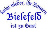 Sweat kniet nieder... Bielefeld