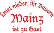Sweat kniet nieder... Mainz