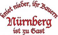 Sweat kniet nieder... Nürnberg