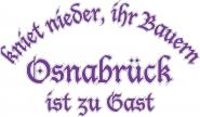 Sweat kniet nieder... Osnabrück