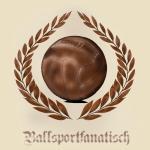 T-Shirt Ballsportfanatisch natur Fussball Ultras