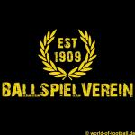 T-Shirt Dortmund Ballspielverein Ballspielverein schwarz