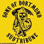 T-Shirt Dortmund SONS OF DORTMUND gelb