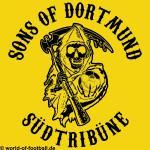 T-Shirt Dortmund SONS OF DORTMUND gelb