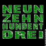 T-Shirt Fürth Neunzehnhundertdrei