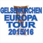 T-Shirt Gelsenkirchen Europatour 2015 weiss
