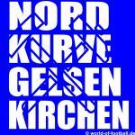 T-Shirt Gelsenkirchen Nordkurve