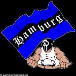 T-Shirt Hamburg Fahnenschwinger schwarz
