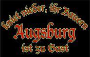 T-Shirt kniet nieder...Augsburg