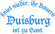 T-Shirt kniet nieder... Duisburg